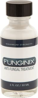 FUNGINIX Finger and Toe Fungus Treatment - Maximum Strength Anti-Fungal Solution, Eliminate Fungal Infections, Powerful & Effective (1 Fluid Ounce)