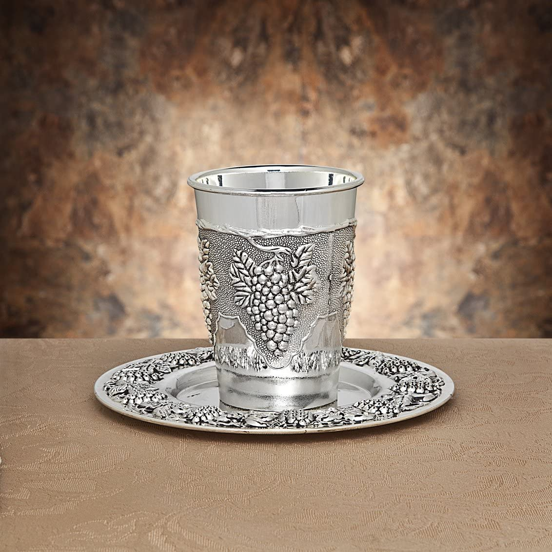 Studio Silversmiths 5 San Francisco Mall popular Silverplate Cup Kiddush silver-plated