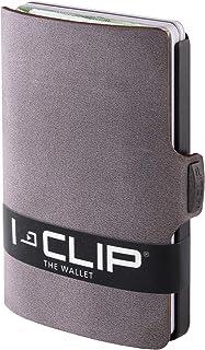 I-CLIP - Soft Touch Leather - Slim Wallet - Minimalist, Thin Design & Money Clip