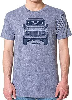 Mens Land Rover Defender 90 T-Shirt Retro Vintage 4x4 Off Road Cool Tee