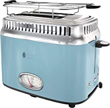 Russell Hobbs TR9150BLR Retro Style 2-Slice Toaster, Heavenly Blue