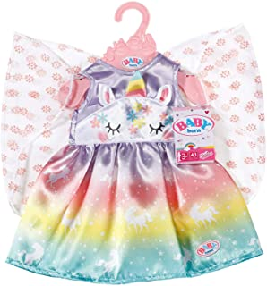 Baby Born Sprookjes Outfit voor Poppen van 43 cm - Eenhoorn, Regenboog & Sprookjesvleugels Design- Ideaal voor Kinderhandj...