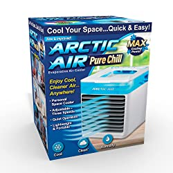 Ontel Arctic Air Pure Chill Evaporative Portable Personal Air Cooler