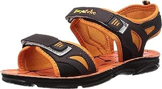 Lucy & Luke by Liberty Boy's Darrell-1 Orange Outdoor Sandals-4 UK (37 EU) (5 US) (2156028122)