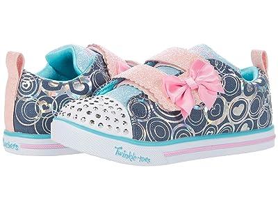 SKECHERS KIDS Twinkle Toes Sparkle Lite Lil Heartsland 314754N (Toddler/Little Kid) (Denim/Multi) Girl