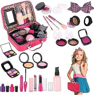 Tuptoel Pretend Makeup for Girls, Kids Make Up Kit for Girl Play Makeup Box for Little Girl Toddler - Birthday Makeup Toys...