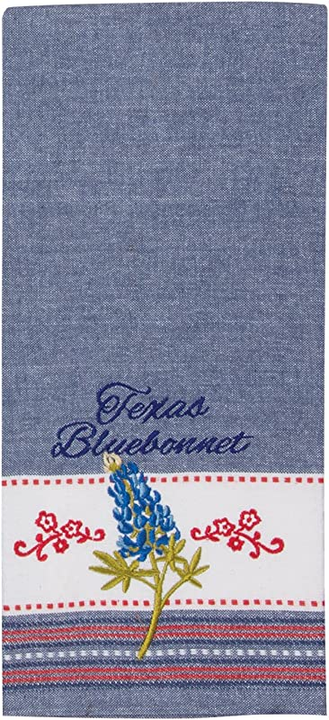 Kay Dee Designs R3770 Home Sweet Texas Embroidered Tea Towel