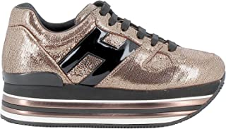 Hogan Luxury Fashion Womens HXW4730T5489UP0F70 Bronze Sneakers | Fall Winter 19
