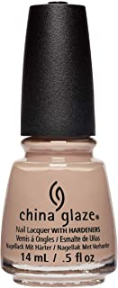 China Glaze Nail Lacquer with Hardeners, 14 ml, Throne-in' Shade