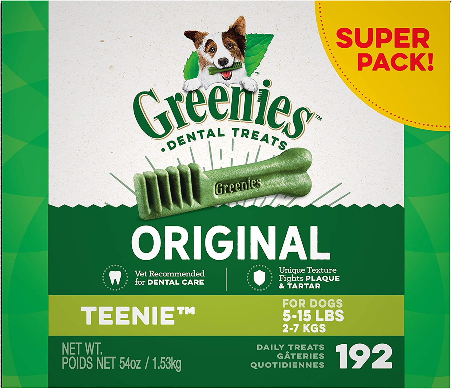 Greenies Dental Dog Treats  Teenie  54oz