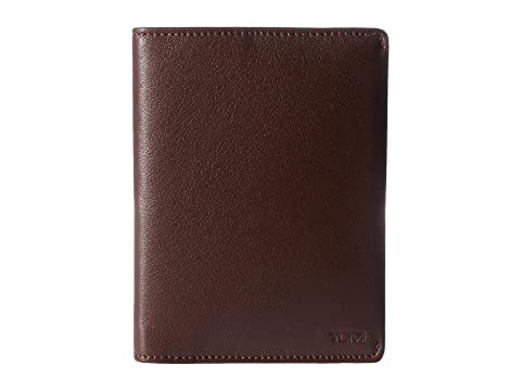 con Nassau textura pasaporte Tumi para marrón Funda 1UznwqXBF