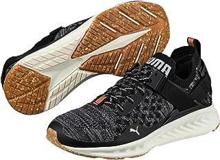 PUMA Women's Ignite Evoknit Lo Vr WN's, Olive Night- Black-Quiet Shade, Running Shoes