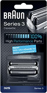 Braun 32S Shaver Replacement Foil Cassette - Silver