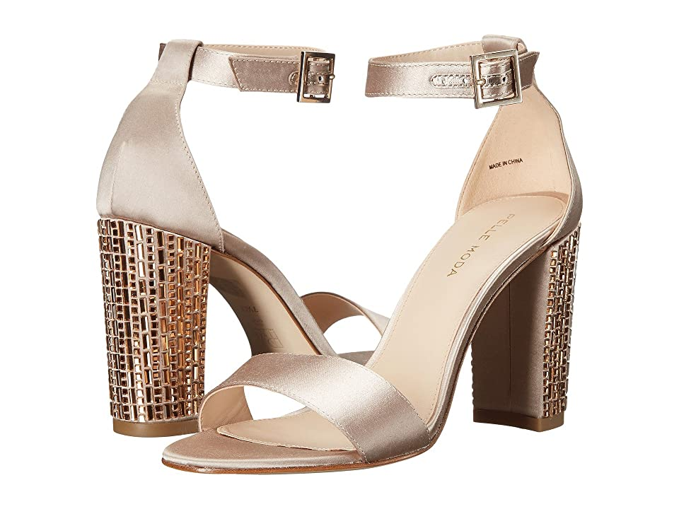 Pelle Moda Bonnie 3 (Platinum Gold Satin) High Heels