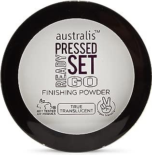 Australis Pressed Ready Set Go! Finishing Translucent Powder Cruelty Free Vegan Friendly Makeup