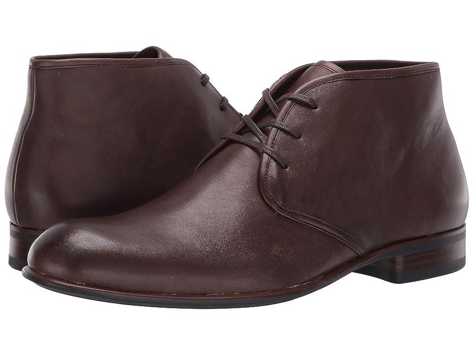 John Varvatos Seagher Chukka Boot (Wood Brown) Men