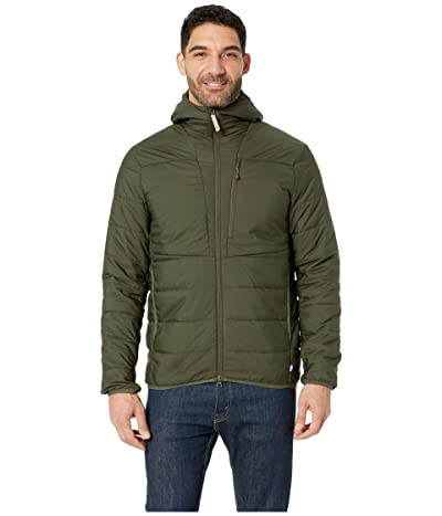 Fjallraven Keb Padded Hoodie (Deep Forest) Men