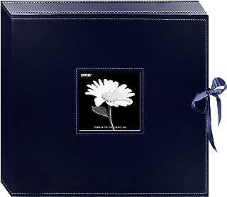 Pioneer 13x électrique Cousu Boîte Scrapbooking Anneau en D en Similicuir, Bleu Marine