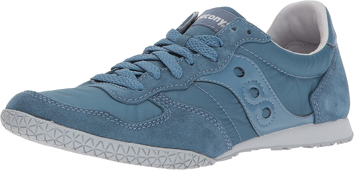 Saucony Originals Men's Classic Bullet Sneaker, bluee, 7 Medium US