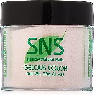 SNS 107 Nails Dipping Powder No Liquid/Primer/UV Light
