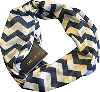 Active Roots Womens Infinity Scarf Wrap Scarf with Hidden Zipper Pocket