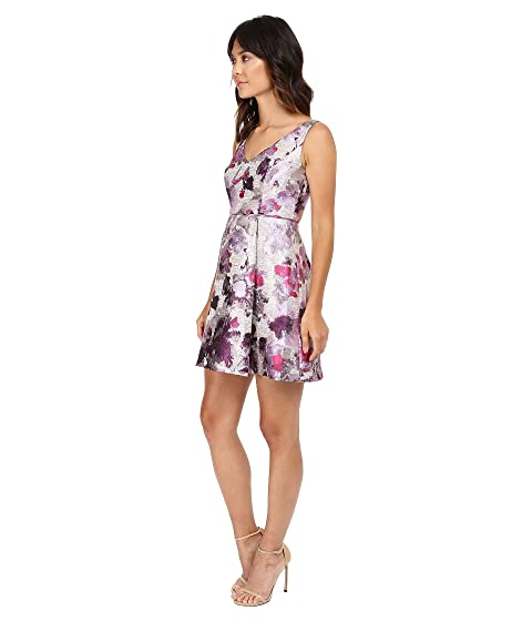 Adrianna Papell Open Back Jacquard Party Dress At 6pm