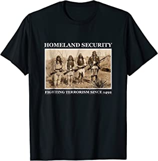 fighting terrorism since 1492 t shirt
