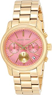 Michael Kors Women's Quartz Watch, Chronograph Display and Stainless Steel Strap MK6161