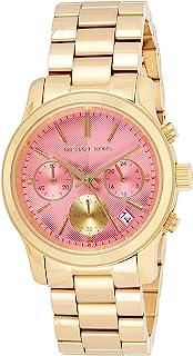 Michael Kors Women's Quartz Watch, Chronograph Display and Stainless Steel Strap MK6161
