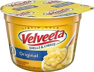 Velveeta Original Shells and Cheese Single Serve Microwave Dinner (2.39 oz Cup)