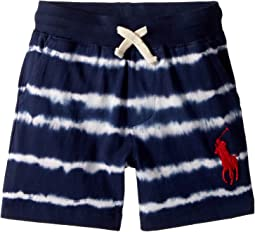 Tie-Dye Cotton Jersey Shorts (Toddler)