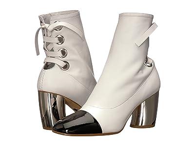 Proenza Schouler PS27160 (Optic White/Black/Silver) Women