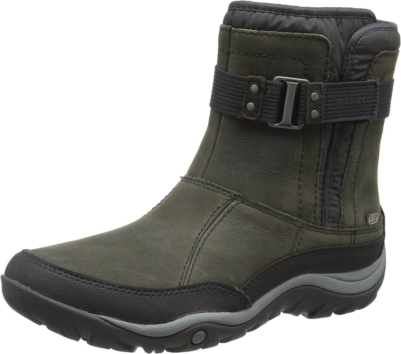 Merrell Murren Strap WTPF Black Ankle Boots