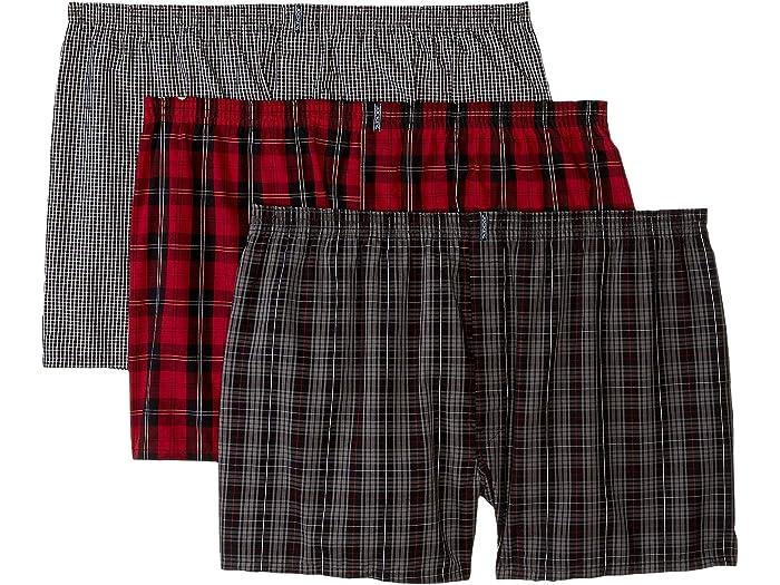 3 Pack Jockey Mens Underwear Classic Full Cut Boxer