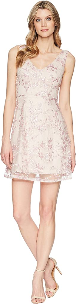 Adrianna Papell A-Line Short Dress