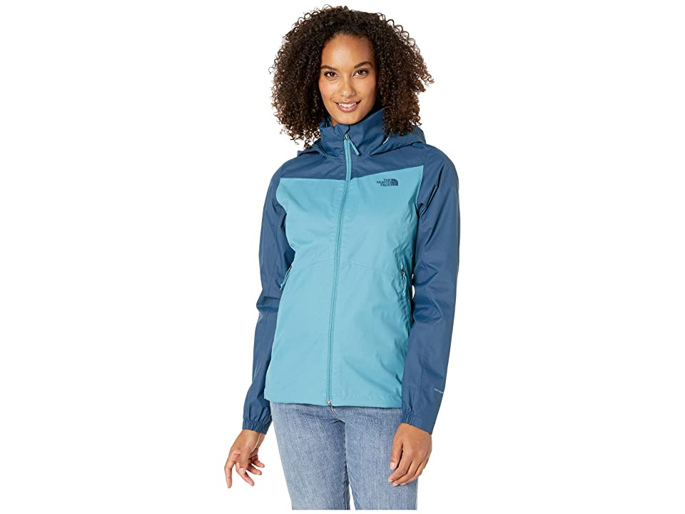 The North Face PR Resolve Plus Jacket (Storm Blue/Blue Wing Teal) Women