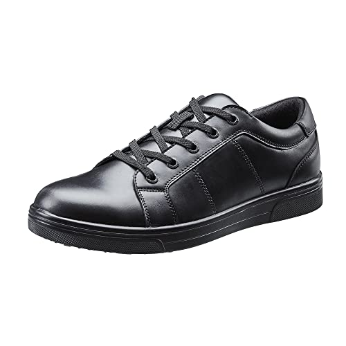 37efc46792476 Black Leather School Shoes: Amazon.co.uk