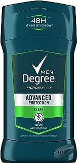 ° Men Advanced Protection Antiperspirant Deodorant Invisible Solid, Clean, 2.7 oz