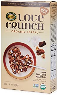 Nature's Path Love Crunch Organic Cereal, Dark Chocolate Macaroon, 6 Count