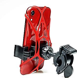 Universal Bike Phone Mount, 360 Degree Rotation Hollow Mountain Bike Phone Holder for iPhone Xs...