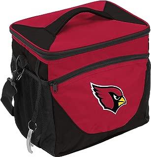 Logo Brands NFL Arizona Cardinals 24 Can Cooler, One Size, Cardinal