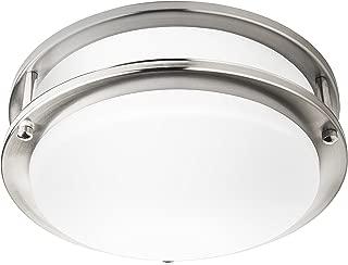 Hyperikon 10 Inch Ceiling Light, 65 Watt Replacement (10W), LED Flush Mount, 4000K Daylight, Dimmable
