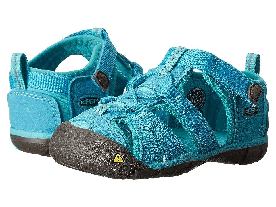 Keen Kids Seacamp II (Toddler) (Baltic/Caribbean Sea) Girls Shoes