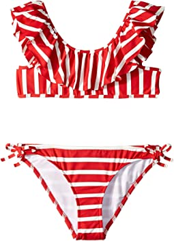 Pinafore String Bikini (Big Kids)