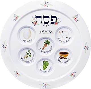modern passover plate