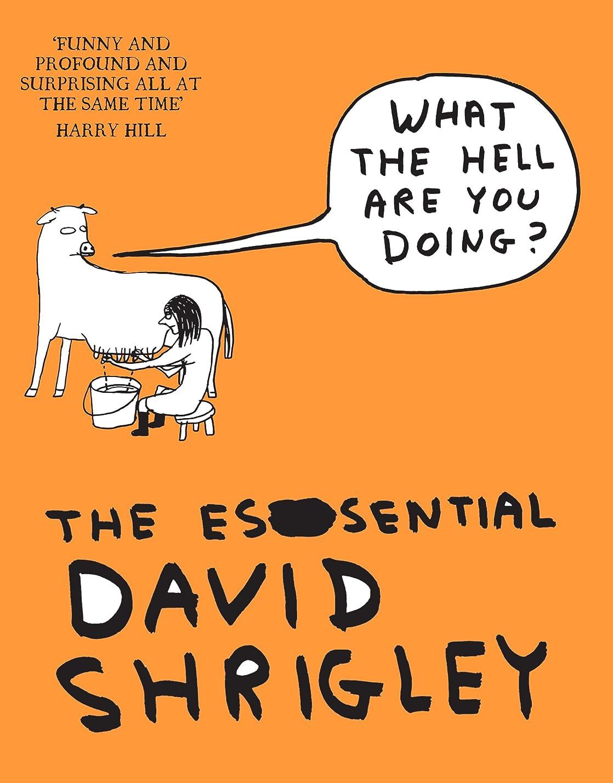 武装解除過去だますWhat The Hell Are You Doing?: The Essential David Shrigley: The Essential David Shrigley (English Edition)