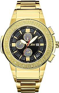 JBW Mens Quartz Watch, Analog Display and Stainless Steel Strap JB-6101-J