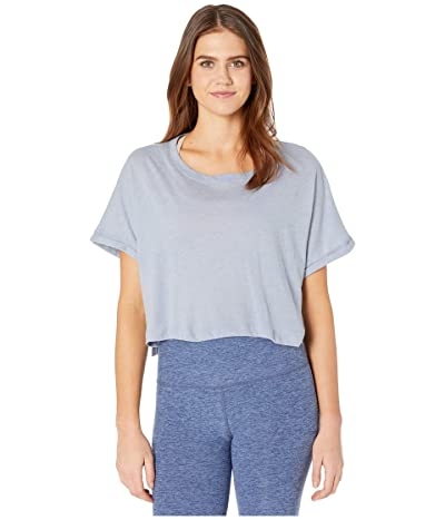 Beyond Yoga Never Been Boxy Tee (Serene Blue Heather) Women