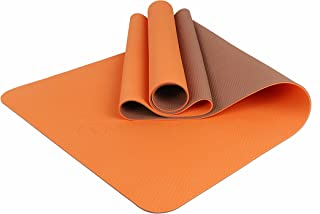 b7354cf5b77 Maji Sports 1760618 2 Tone TPE Yoga Mat, Multicolor