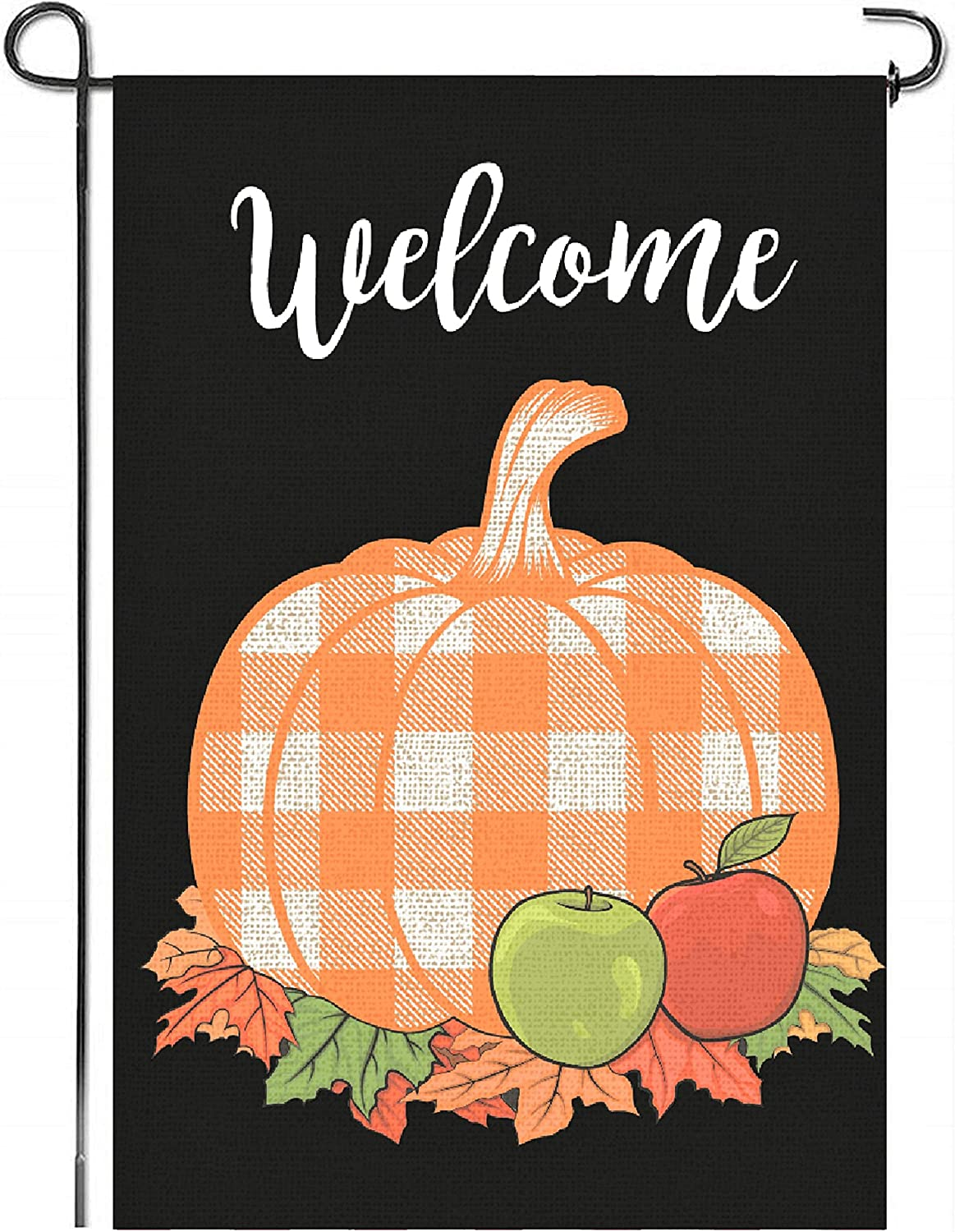 Mogarden Japan's largest assortment Fall Thanksgiving Garden Flag x 12.5 18 Sided Double Lowest price challenge